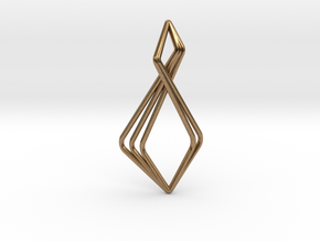 N-Line No.6 Pendant. Natural Chic in Natural Brass