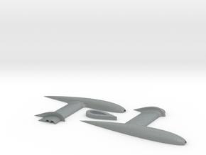3DR Pixhawk Airspeed Sensor Pitot Tube Mount in Polished Metallic Plastic