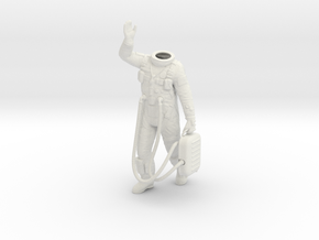 1:6 Gemini Astronaut / Body Nr 1 in White Strong & Flexible