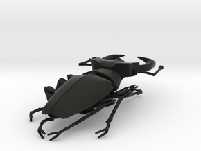 Articulated Stag Beetle (Lucanus cervus) in Black Strong & Flexible