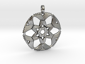LEMURIAN WELLSPRING in Fine Detail Polished Silver