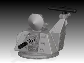 CIWS Goalkeeper kit, standard base x 2 - 1/96 in Frosted Ultra Detail