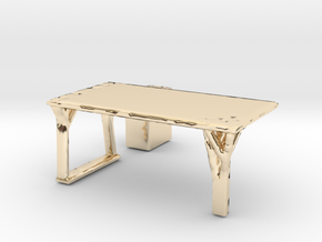 Flexible Table  in 14K Yellow Gold