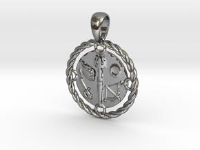 Panchayuda in Polished Silver