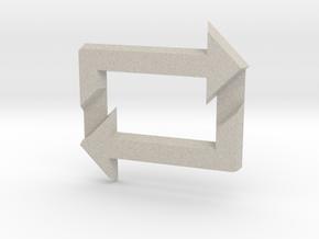 Reblog Pendant in Natural Sandstone