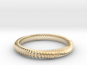 MARLA bangle  in 14K Yellow Gold