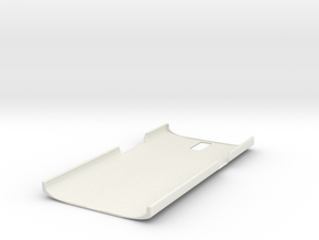Oneplus One - Back Protection Cover  in White Natural Versatile Plastic