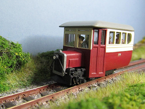 009 Donegal Irish Railcar  in Smooth Fine Detail Plastic