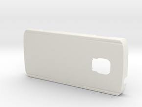 Tray for Samsung Galaxy S4 for ZEISS VR ONE in White Natural Versatile Plastic