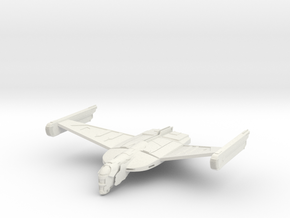 BloodHawk Class Warbird in White Natural Versatile Plastic