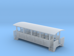 Excursion Car - Zscale in Smooth Fine Detail Plastic