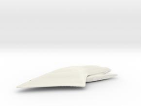 USS Dauntless in White Natural Versatile Plastic