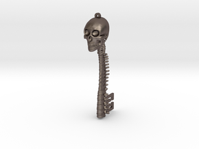 Skeletonkeymetal in Polished Bronzed Silver Steel