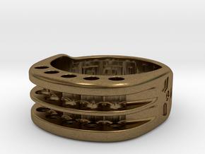 US9 Ring XI: Tritium in Natural Bronze