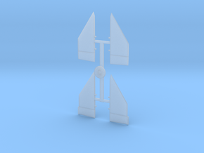 02-Ailerons in Smooth Fine Detail Plastic