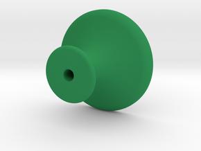 KNOB in Green Processed Versatile Plastic