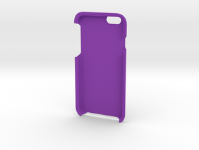 I Phone 6 case in Purple Processed Versatile Plastic