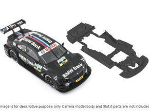 S02-ST4 BMW M3 DTM Chassis SSD/STD in Black Strong & Flexible