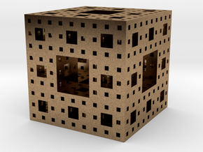 menger in Natural Brass