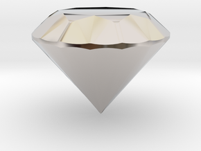 Diamond in Platinum