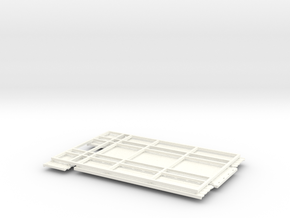 KN 24ft Low side Grain bed in White Strong & Flexible Polished