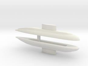 Kilo-Class x 2, 1/1800 in White Natural Versatile Plastic