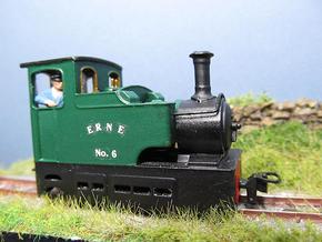 009 Irish Tram Engine  in Smooth Fine Detail Plastic