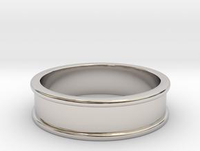 Customizable Ring in Platinum