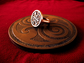Ring of Rassilon in Stainless Steel