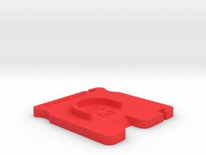 Dji Inspire X3 Gimbal Lock V3 in Red Processed Versatile Plastic