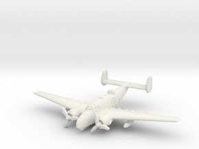 Lockheed PV-2 Harpoon 6mm 1/285 in White Natural Versatile Plastic