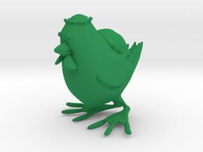 Kappachicken in Green Processed Versatile Plastic