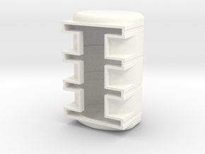 3250 Poly Leg Tank in White Processed Versatile Plastic