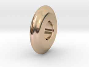 Close Encounters - UFO Spacer in 14k Rose Gold