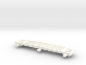 Clod Grille Chevy in White Processed Versatile Plastic