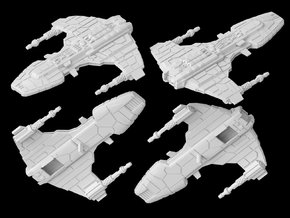 (Armada) Marauder-class corvette in White Strong & Flexible