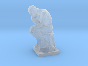 The Thinker (1:160) in Smooth Fine Detail Plastic