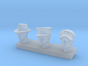 1:64 Head Pack 01 in Smoothest Fine Detail Plastic