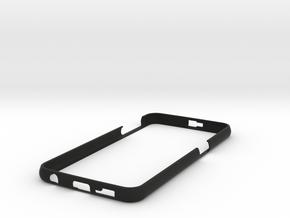 Galaxy S6 slim cover in Black Natural Versatile Plastic