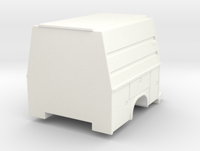 1/64 F-450 Scuba Support / LSU body in White Processed Versatile Plastic