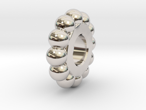 Mr Tambourine Man - Ball Spacer in Platinum