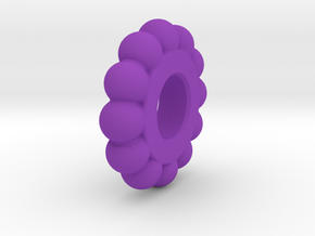 Mr Tambourine Man - Ball Spacer in Purple Strong & Flexible Polished