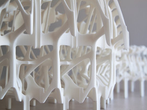 Womb of After Life Part 3 in White Natural Versatile Plastic
