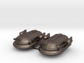 Maxmillian Hover Transport (Short Range Missiles in Polished Bronzed Silver Steel