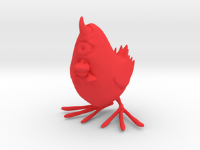 Cychicken in Red Processed Versatile Plastic