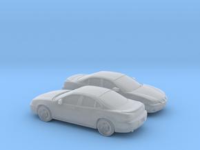 1/160 2X  1997 Pontiac Grand Prix Sedan in Smooth Fine Detail Plastic