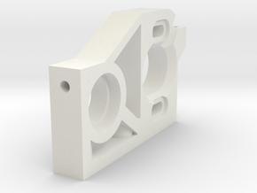 SiC 8 Motorträger MRB  in White Natural Versatile Plastic