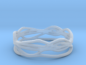 Ring Design 01 Ring Size 8.5 in Smooth Fine Detail Plastic