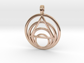 ISLAND PARADISE (light) in 14k Rose Gold Plated Brass