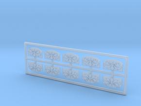 Spiegel Pferdekarussell - 1:160 (N scale) in Smooth Fine Detail Plastic